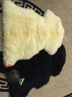 goat's fur carpet from Australia X 2