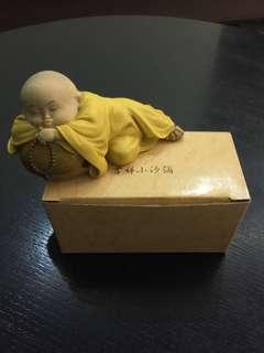 ornamental monk figurines X 2
