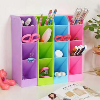 Multi Purpose Mini Candy Colored Shelf Organizer