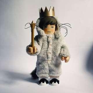 MEDICOM bearbrick KUBRICK 400% WHERE THE WILD THINGS ARE : Max In Wolf Costume