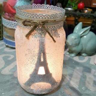 Handcrafted Silhouette Jar