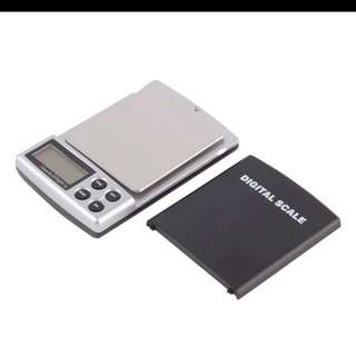 2kg/0.1g Small Portable Palm Pocket Scale up to 2000g / accuracy 0.1g (2kg / 0.0001kg) IN STOCK