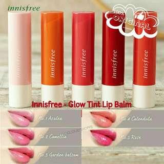 [ORIGINAL] Innisfree - Glow Tint Lip Balm