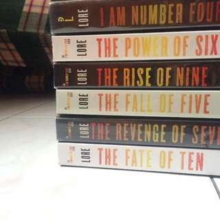 I Am Number Four (6 Books LATEST!)
