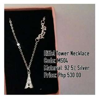 Eiffel Tower Necklace 🗼