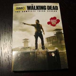 The walking dead dvd season 3