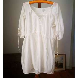 White Boho WITCHERY Dress