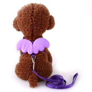 FREE POSTAGE Cute Dog Leash Wings