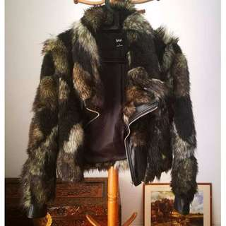 SPORTSGIRL Faux Fur Bomber Jacket