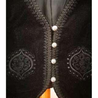 DECJUBA Velvet Boho Jacket