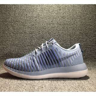 c4cc02365b10  PO  Nike Roshe 2 Flyknit Blue Grey WMNS
