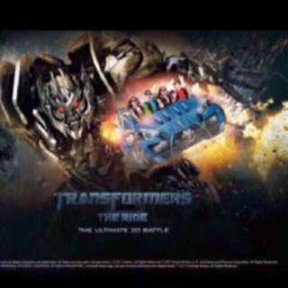 Uss/ Universal Studio Singapore  One Day Pass Ticket