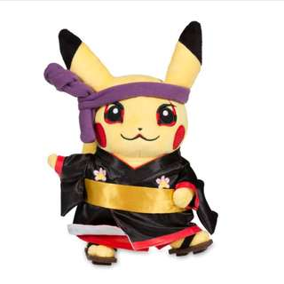 Around the World Kabuki Pikachu Poké Plush