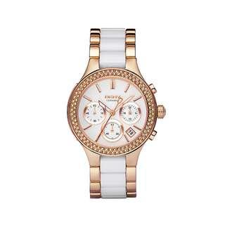 DKNY NY8183 Chambers Ceramic Stone Watch