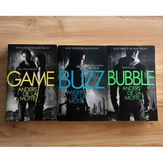 Game; Buzz; Bubble Book Trilogy by Anders de la Motte
