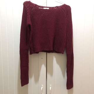 REPRICE Colorbox Crop Sweater