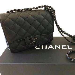 Chanel Mini Square in Black
