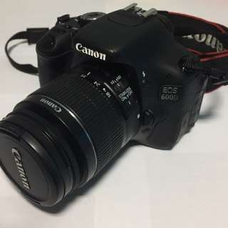 Canon EOS 600D with 18-55mm f/3.5-5.6 IS II Lens