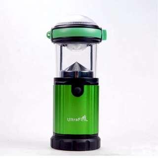 UltraFire 3W CREE XR-E P4 Camping Lantern - 高質露營燈 - 2種照明模式 - Ref A0186