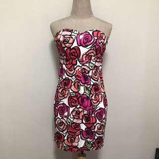 Rose Tube Dress