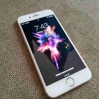 iPhone 6s 16gb Gold Globe locked Smooth