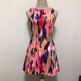 FlymetoParis - Watercolor Dress