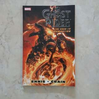 "Ghost Rider (Marvel Comics TPB Graphic Novel; collects 6 Issues of complete story arc on ""The Road to Damnation"")"