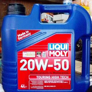 Liqui Moly Engine Oil 20/50