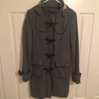 Size 8 Grey Winter Coat