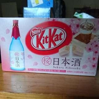 日本酒味kitkat