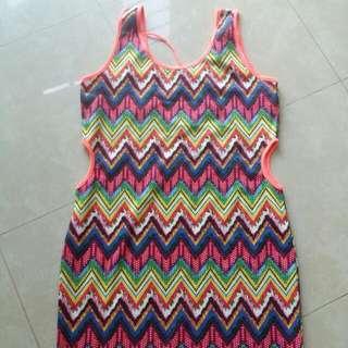 Highlight Dress With Waist Peek #IDoTrade