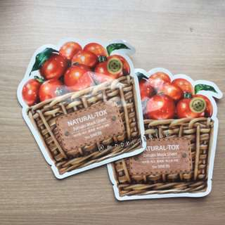 The Saem - Natural Tomato Mask Sheet