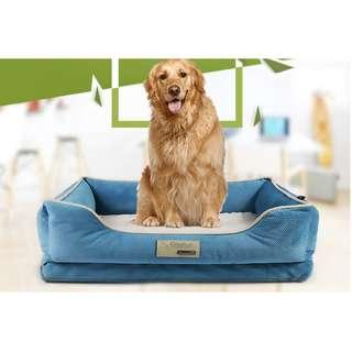 DELUXE SOFT WASHABLE DOG CAT WARM BASKET BED CUSHION PLUSH & COZY