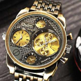 GOLD Luxury Watch