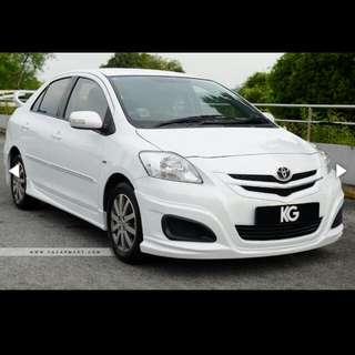 Toyota Vios ( Renew 5 Years Coe )