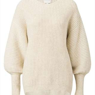 Witchery Cream Jumper Size Small