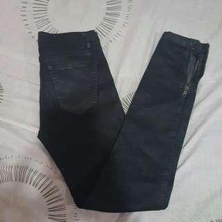 Zara Black Skinny Pants