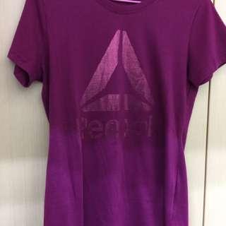 🌟🌟Reebok紫色燙金短袖上衣