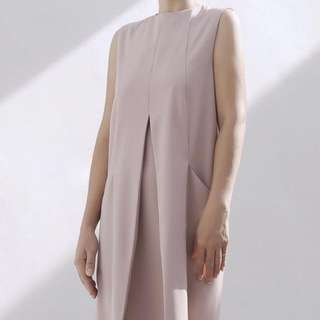 Beyond The Vines Panel Dress (mauve) UK10