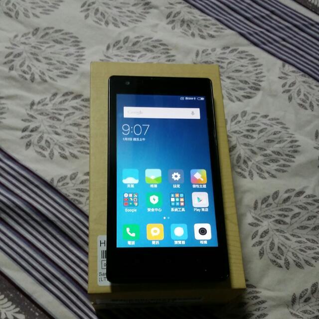紅米1,内存8GB,3G手機
