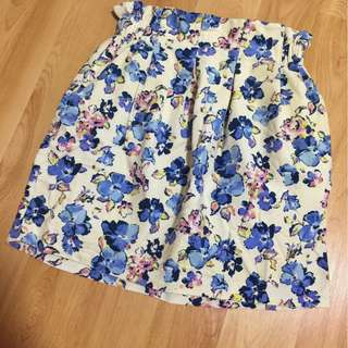 Flower Tulip Skirt