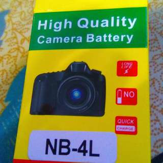 NB-4L New Battery In The Box