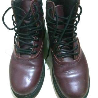 ( UK 9 can fit uk 10 )Supra Ox Blood Henry Boot