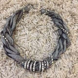 Grey Cute Necklace