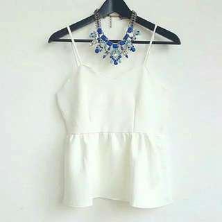Claire Ruffle Top