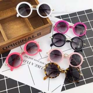 🚚 韓風 抗紫外線兒童太陽眼鏡