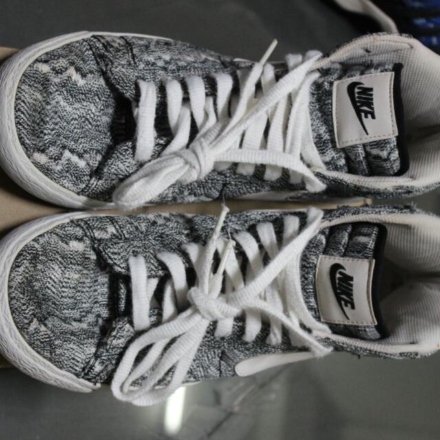 separation shoes 6f5f5 f1481 2014 Nike Blazer MID PRM VNTG TXT QS Marble Mesh Vintage Grey White ...