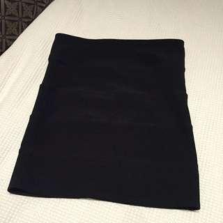 Sportsgirl, Black Mini Skirt