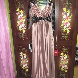 Long Gown Salmon pink