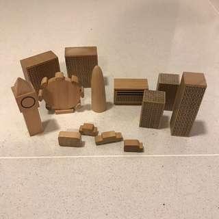 Muji - London Blocks